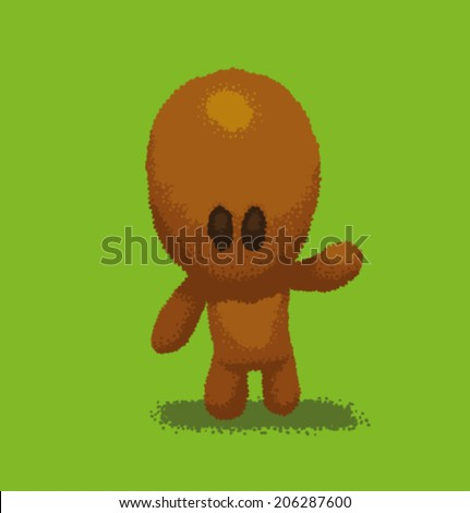 cute character  vector