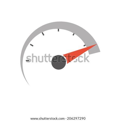 speedometer vector icon eps8