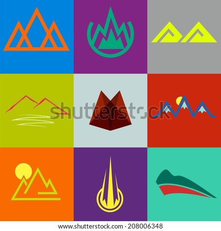 vector set of different