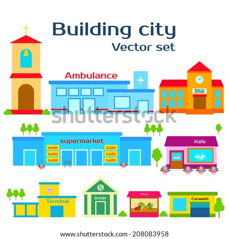 set vector illustration of