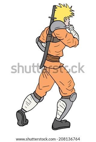 orange samurai