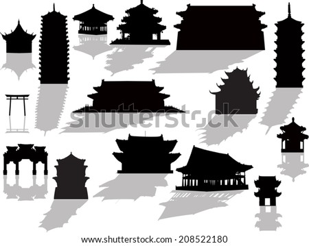 illustration with isolated