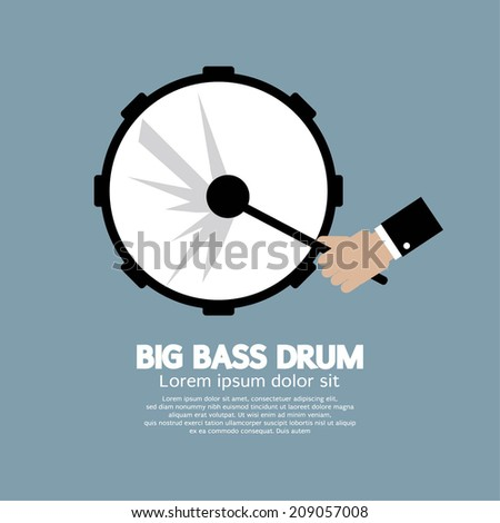 big bass drum music instrument