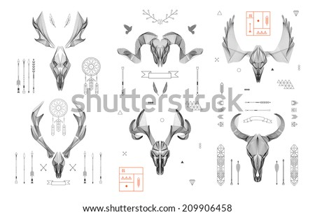 abstract animal background