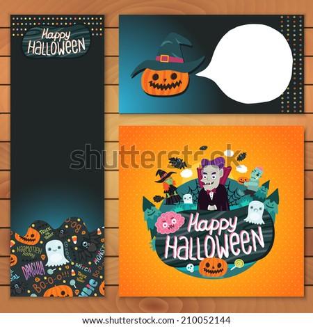 happy halloween brochure