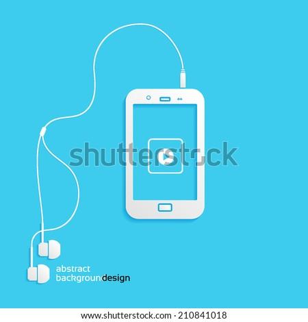 sound  phone  flat icon