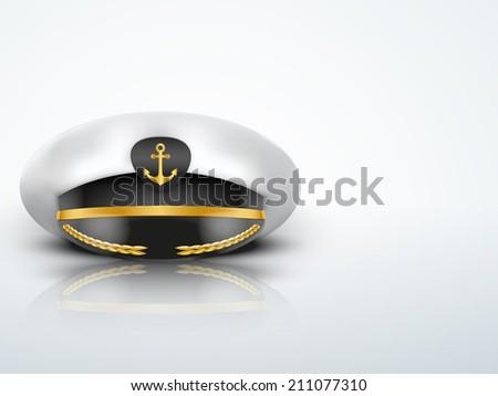 light background captain peaked