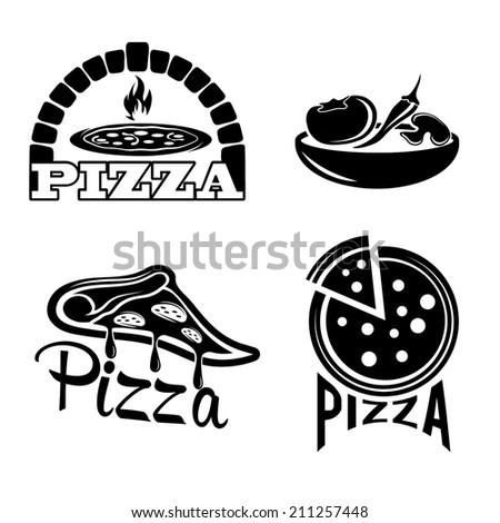 set for pizzeria or italian