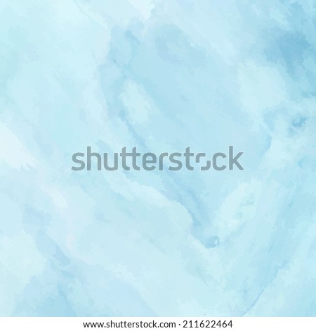 blue sea wave watercolor