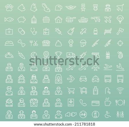 set of 100 minimal universal