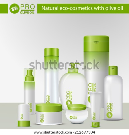 natural eco cosmetics with