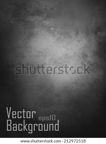 vector   black background