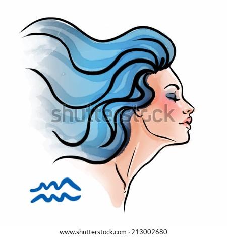 aquarius zodiac sign as a