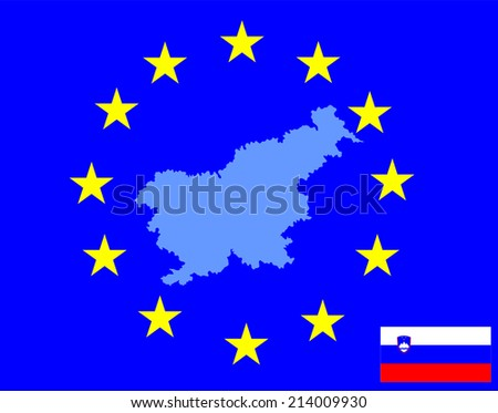 slovenia high detailed vector