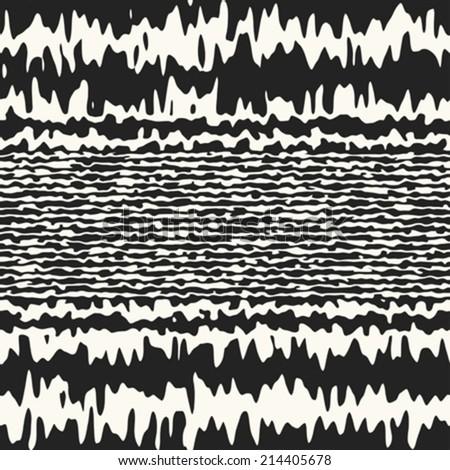 abstract noisy striped