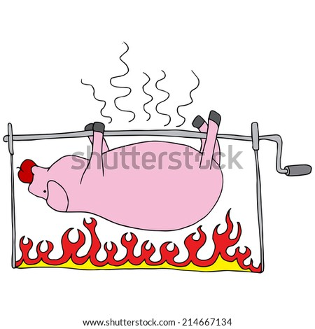 Pig roast clip art free vector download (210,255 Free vector) for ...