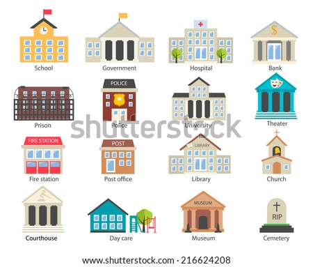 color government buildings