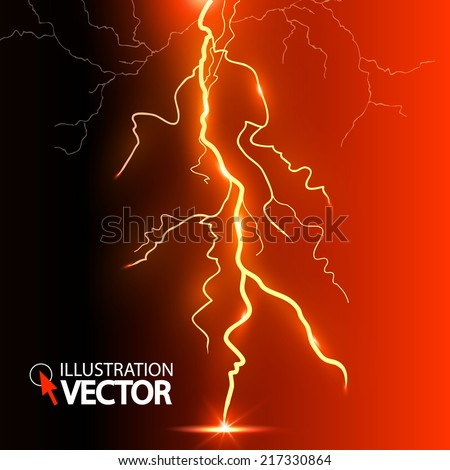 lightning abstract background
