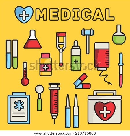 lines style medical equipment