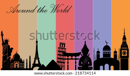 wonders of world  travel and