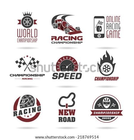 formula 1 icon set  sport icons