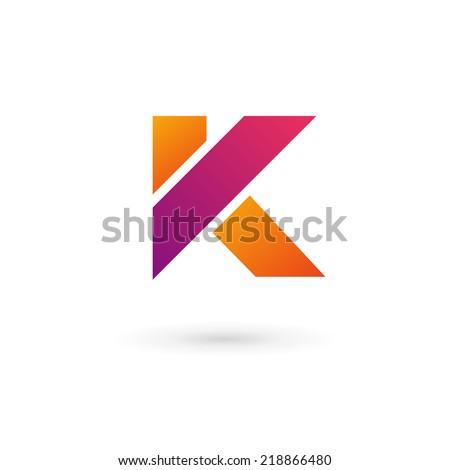 letter k logo i... K Logo Design