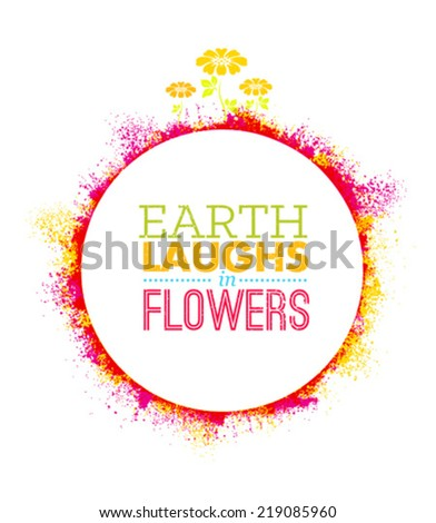 earth laughs in flowers eco