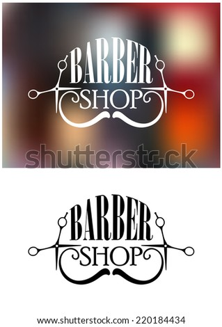 two color variants of barber