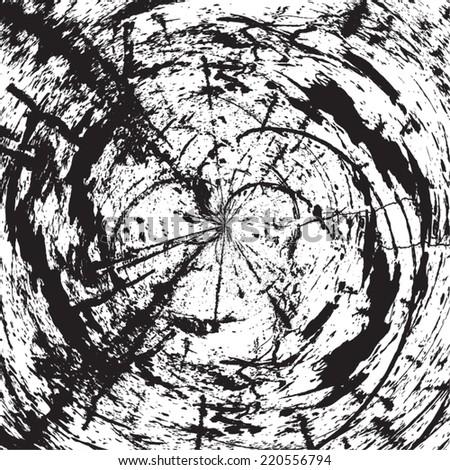 grunge hypnosis spiral design