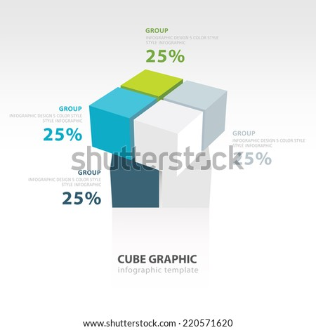 cube moving infographic