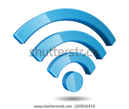 wi fi wireless network symbol