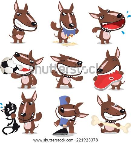 bad dog cartoon collection
