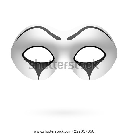 clown  mime mask vector