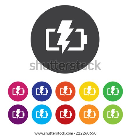 battery fully charged icon