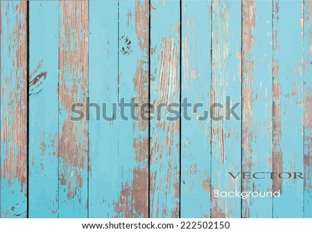 vector old wooden painted