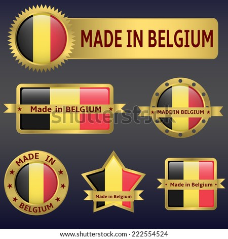 made in belgium labels and