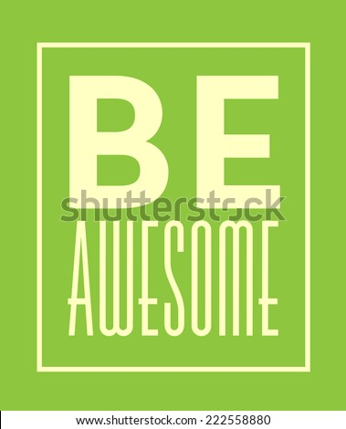 be awesome template   minimal