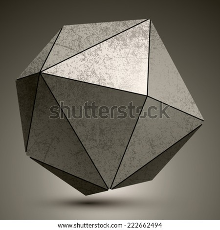 grunge metallic3d spherical