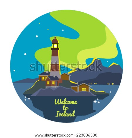 concept vector landscape travel