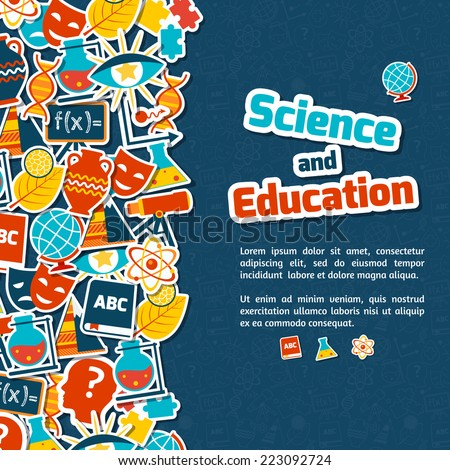 science and education areas