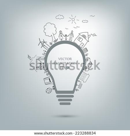 light bulb idea  creative