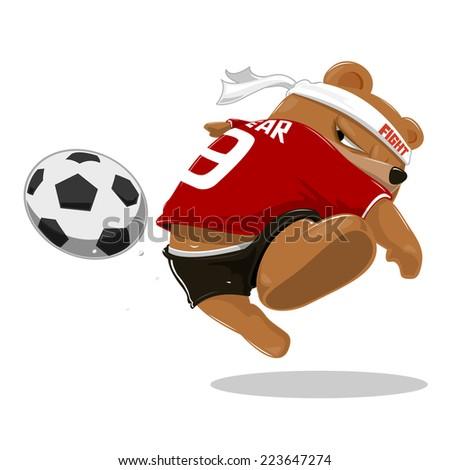 hey guys i like soccer   vector