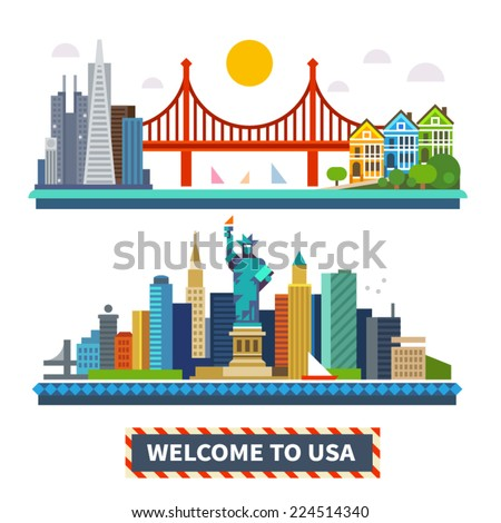 welcome to usa new york and