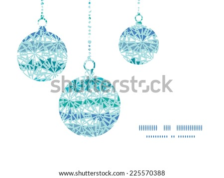 vector abstract ice chrystals