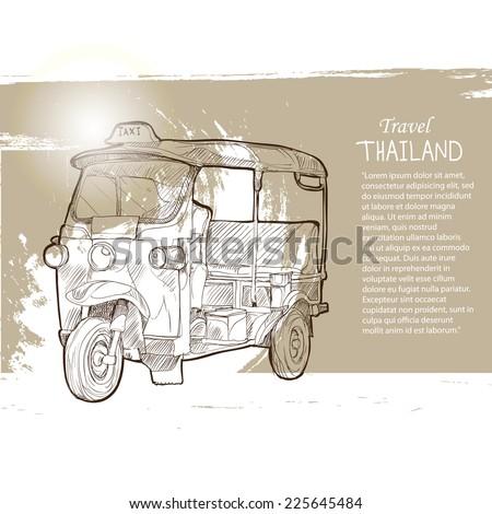 tuk tuk thailand  thailand