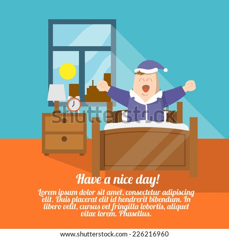have a nice day poster with