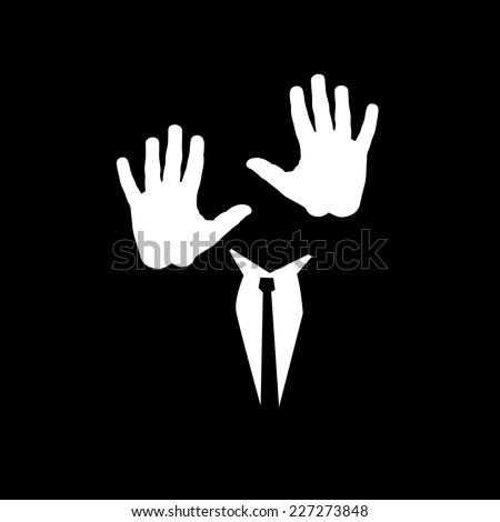 man walking in the dark vector