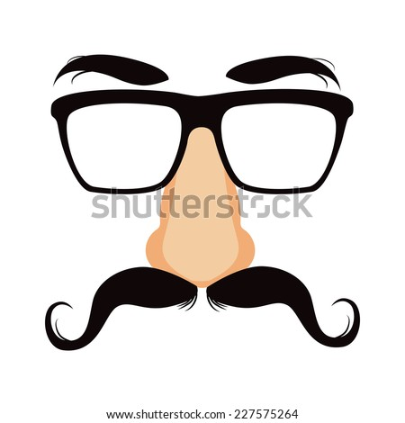 funny disguise mask with