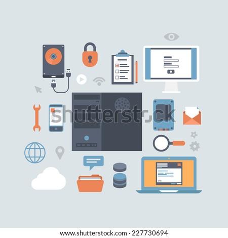 server computing hosting