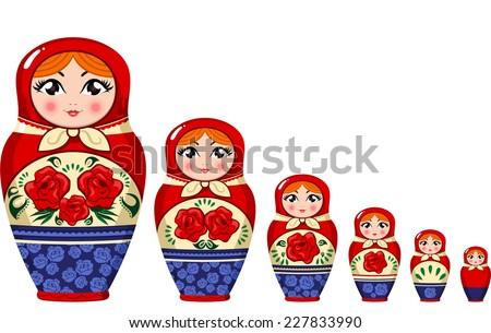 matryoshka doll russian nesting